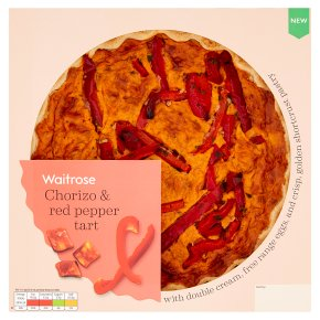 Waitrose Chorizo & Red Pepper Tart