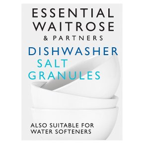essential Waitrose Dishwasher Salt Granules