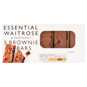essential Waitrose 5 brownie bars