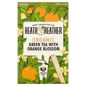Heath & Heather Green Tea with Orange Blossom 20s