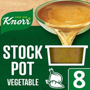 Knorr vegetable 8 pack stock pot
