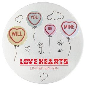 Love Hearts Mini Rolls
