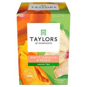 Taylors White Hibiscus & Peach Green Tea