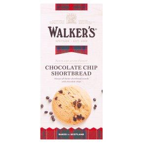 Walkers chocolate chip shortbread