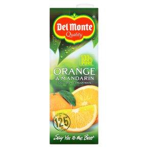 Del Monte Orange & Mandarin Juice