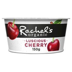 Rachel's organic forbidden fruits cherry yogurt