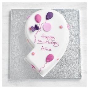 9th Birthday Butterfly Cake