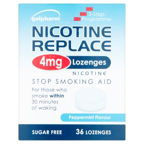 Nicotine Replace 4mg Lozenges