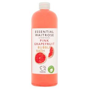essential Waitrose Grapefruit Bath