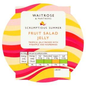 Waitrose Fruit Salad Jelly