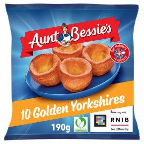 Aunt Bessie's 12 frozen golden Yorkshires