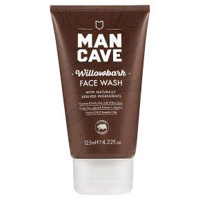 Man Cave Willowbark Face Wash