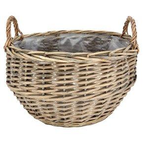 Waitrose Garden Large Wicker Basket