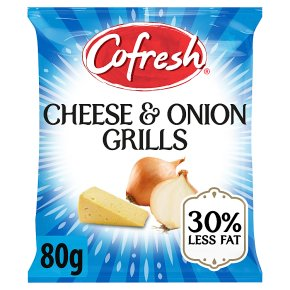 Cofresh pot snacks - cheese & onion