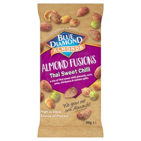 Blue Diamond Almond Fusions Thai Sweet Chilli