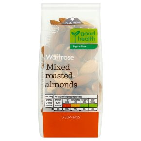 Waitrose Mixed Roasted Almonds