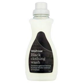 Waitrose black clothing wash 18 washes