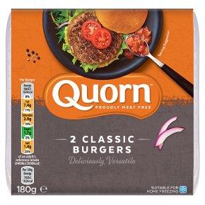 Quorn 2 Classic Burgers