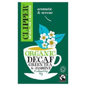 Clipper 20 Decaf Green Tea & Jasmine