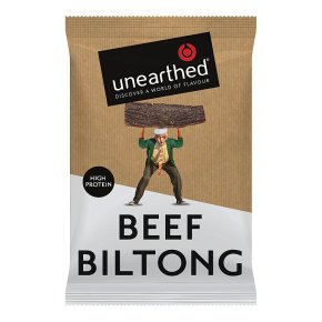 Unearthed original biltong beef