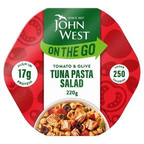 John West Lunch on the Go Tuna, Tomato & Olive Pasta Salad