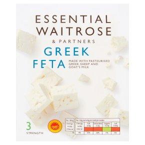 essential Waitrose Greek Feta cheese, strength 3