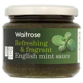 Waitrose English mint sauce