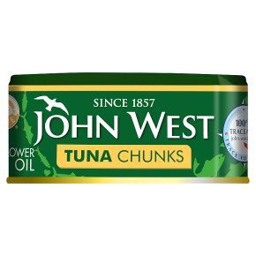 John West Tuna Chunks in Sunflower Oil