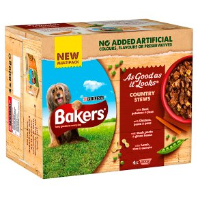 Bakers As Good As It Looks Dog Food Country Stew