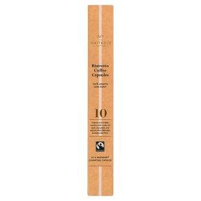 No.1 Ristretto Coffee Capsules 10s