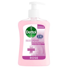 Dettol with E45 Rose Hand Wash