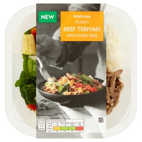 Waitrose Asian Beef Teriyaki with Sticky Rice
