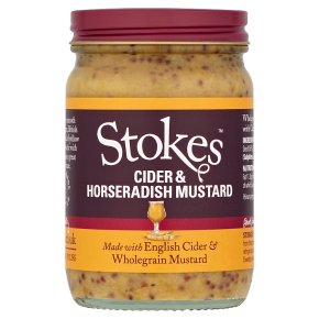 Suffolk Mud, cyder & horseradish mustard