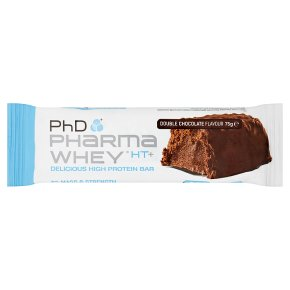 PhD Pharma Whey HT+ Double Chocolate Bar