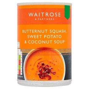 Waitrose Butternut Squash, Sweet Potato & Coconut Soup