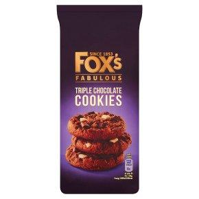 Fox's Chunkie Triple Chocolate Cookies