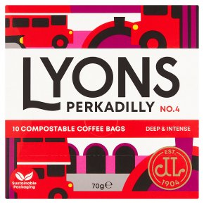 Lyons Perkadilly Coffee Bags 10s