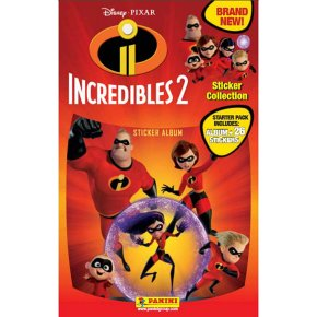 Incredibles 2 Sticker Collection Starter Pack