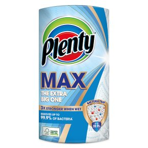 Plenty Extra Large Kitchen Roll 100 Sheets