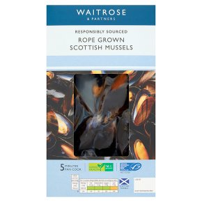 Waitrose Cooked Scottish Mussels