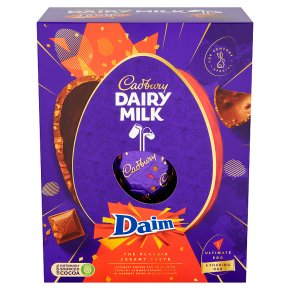Cadbury Dairy Milk Daim Ultimate Chocolate Easter Egg Waitrose