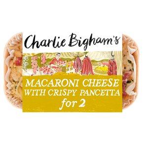 Charlie Bigham's macaroni cheese