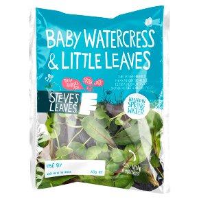 Steve's Leaves baby watercress & little leaves