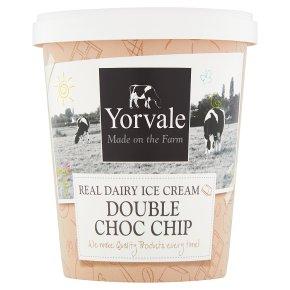 Yorvale ice cream double chocolate chip