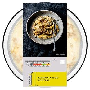 Waitrose 1 Macaroni Cheese with Crab