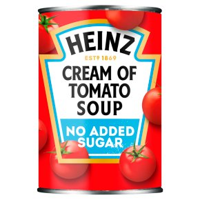 Heinz No Added Sugar Cream of Tomato Soup 25% Less Salt