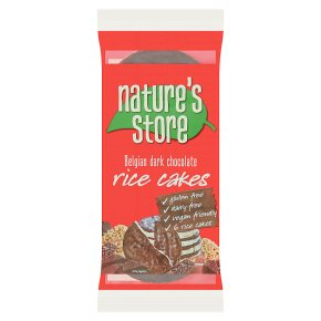 Nature's Store Dark Chocolate Rice Cakes