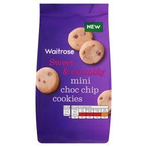 Waitrose mini choc chip cookies