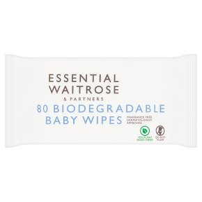essential Waitrose Baby Wipes