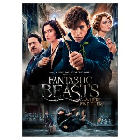 DVD Fantastic Beasts & Where to Find Them